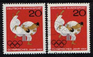 Duitsland (BRD) 1964 zegel 'Olymp. Spiele Tokio' nr 451
