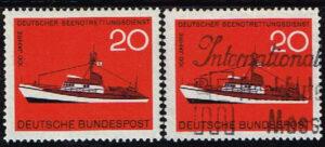 Duitsland (BRD) 1965 zegel '100 Jahre Deutsche Gesellschaft zur Rettung Schiffbrüchiger' nr 478