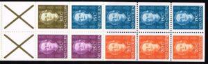 Ned. Antillen 1979 Automaatboekje PB 3a type Hartz (bruin kruis) No. 609 rechts