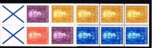 Ned. Antillen 1979 Automaatboekje PB 4a type Hartz (blauw kruis) No. 605 links
