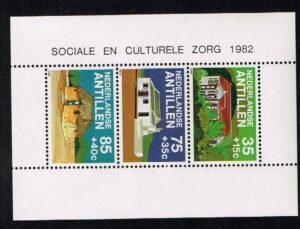 Ned. Antillen 1982 Blok Cultuur NVPH 734