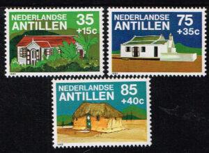 Ned. Antillen 1982 Cultuur NVPH 731-733