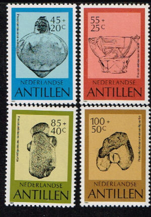 Ned. Antillen 1983 Cultuur NVPH 754-757
