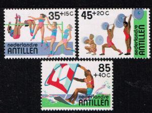 Ned. Antillen 1983 Sportzegels NVPH 735-737