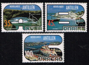 Ned. Antillen 1983 Toerisme NVPH 738-740