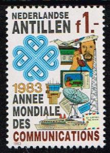 Ned. Antillen 1983 Wereldcommunicatie NVPH 741