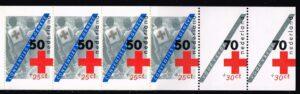 Nederland 1983 Postzegelboekje PB 29 Uitgifte 30 Augustus 1983 4 x 50 ct + 2 x 70 ct Rode Kruis