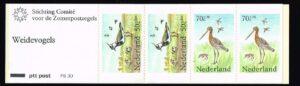 Nederland 1984 postzegelboekje PB 30 Uitgifte 3 April 1984 2 x 50 ct + 2 x 70 ct Zomerzegels