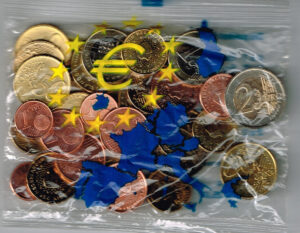 Nederland 2000 Euro set ingepakt EAN 8712345678012