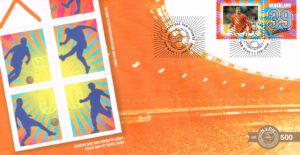 Nederland 2004 FDC Persoonlijke postzegel onbeschreven E500 met Certificaat