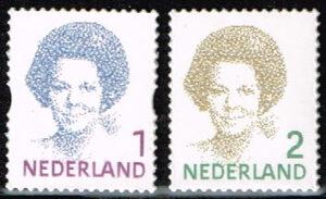Nederland 2010 Frankeerzegels Koningin Beatrix 1 & 2 NVPH 2730-31 gestanst