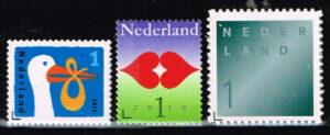 Nederland 2010 Gelegenheid, Geboorte/Liefde/Rouw NVPH 2744-46 gestanst