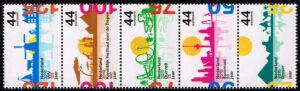 Nederland 2010 Jubileumzegels, Artillerie, EHBO en Landbouwuniversiteit Wageningen NVPH 2708-12