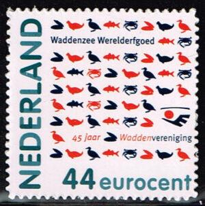 Nederland 2010 Waddenzee Werelderfgoed NVPH 2694
