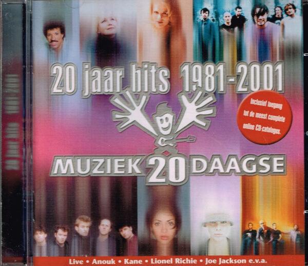 20 Jaar Hits 1981-2001 EAN 724320010623