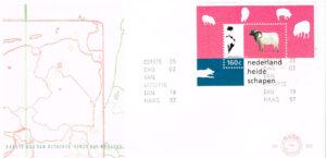 Nederland 1997 FDC Blok Natuur en Milieu onbeschreven E363A