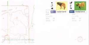Nederland 1997 FDC Natuur en Milieu onbeschreven E363