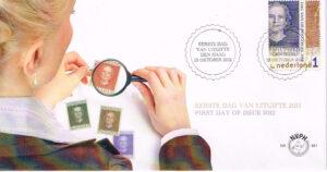 Nederland 2012 FDC Dag van de postzegel onbeschreven E661