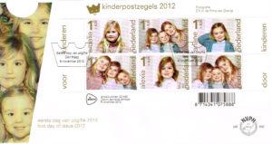 Nederland 2012 FDC Kinderzegels onbeschreven E662