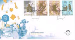 Nederland 2012 FDC 125 jaar Albert Heijn onbeschreven E645