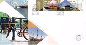 Nederland 2012 FDC Bezoek Amsterdam onbeschreven E648