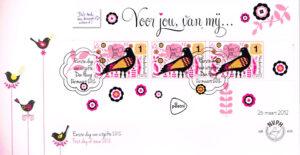 Nederland 2012 FDC D'as toch een kaart waard onbeschreven E649