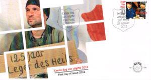 Nederland 2012 FDC Leger des Heils 125 jaar onbeschreven E646