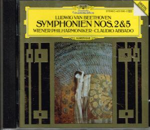 Ludwig Van Beethoven, Wiener Philharmoniker, Claudio Abbado Symphonien Nos. 2 & 5 EAN 028942359024