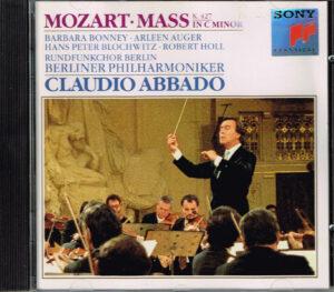 Mozart, Claudio Abbado, Berliner Philharmoniker Mass In C Minor K.427 EAN 5099704667126