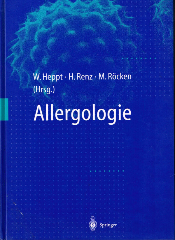 Allergologie ISBN 3540619143