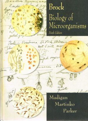 Brock's Biology of Microorganisms ISBN 0130819220 Ninth Edition