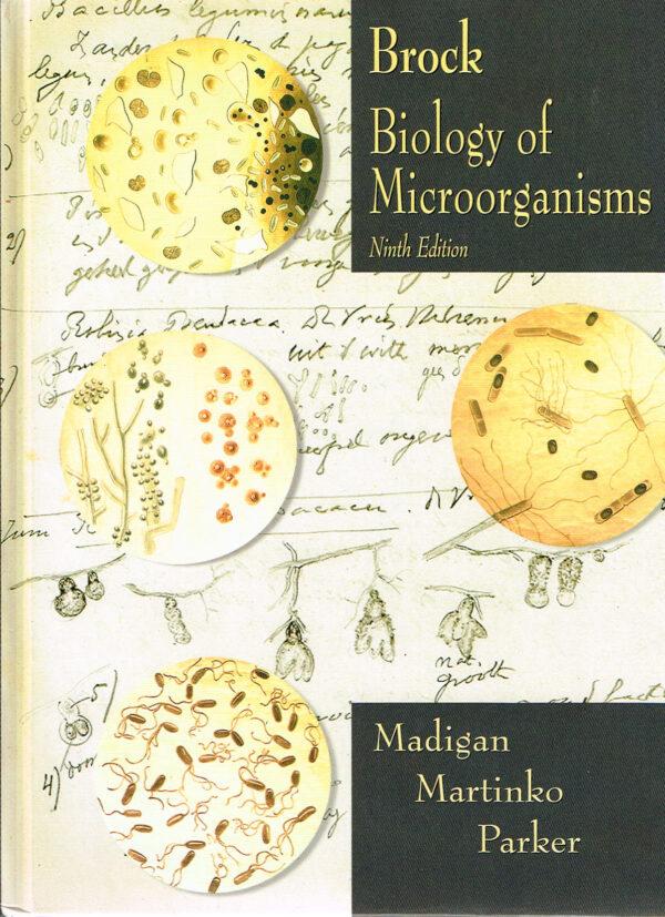 Brock's Biology of Microorganisms ISBN 0130819220 Ninth Edition