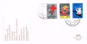 Nederland 1978 FDC Rode Kruis onbeschreven E167