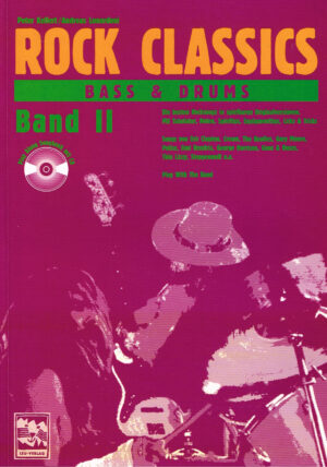 Rock Classics Bass Und Drums band 2 mit Cd ISBN 3928825720