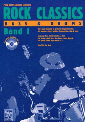 Rock Classics. Bass Und Drums band 1 mit Cd ISBN 3928825569