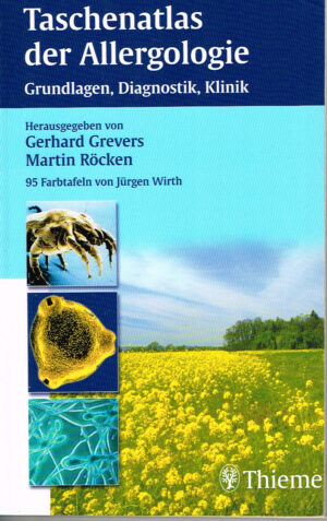 Taschenatlas der Allergologie ISBN 3131175516