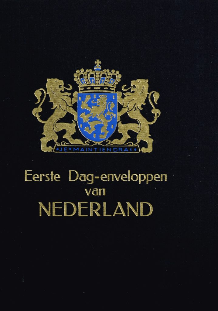 DAVO Luxe album FDC Nederland (zonder nummer)
