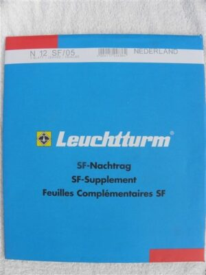 Leuchtturm Nederland 2005 Supplement (basis) met klemstroken. N12 SF/05