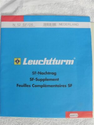 Leuchtturm Nederland 2006 Supplement (basis) met klemstroken. N12 SF/06