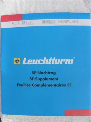 Leuchtturm Nederland 2007 Supplement (basis) met klemstroken. N12 SF/07