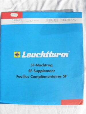 Leuchtturm Nederland 2010 Supplement (basis) met klemstroken. N12 SF/10