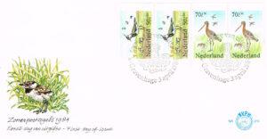Nederland 1984 FDC Boekje Zomerzegels onbeschreven E215A