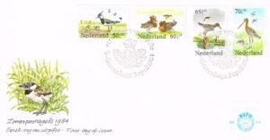 Nederland 1984 FDC Zomerzegels onbeschreven E215