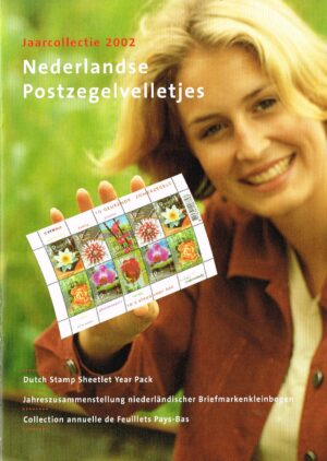 Nederland 2002 boekje Nederlandse Postzegelvelletjes 2002