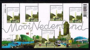 Nederland 2005 Mooi Nederland velletje Amsterdam NVPH 2347