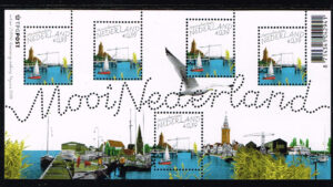 Nederland 2005 Mooi Nederland velletje Monnickendam NVPH 2346