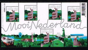Nederland 2005 Mooi Nederland velletje Nijmegen NVPH 2323