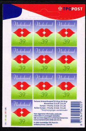 Nederland 2005 Voor de liefde zelfklevend NVPH V2322