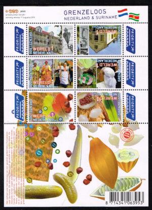 Nederland 2010 Grenzeloos Nederland Suriname NVPH V2752-2757a