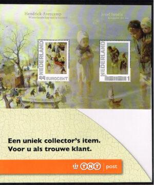 Nederland 2010 Persoonlijke Postzegel geschenksvelletje TNT Post NVPH 2563-B-2